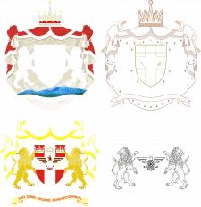 Фамильный герб(детализация)