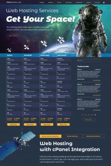 Magellan Host — дизайн сайта