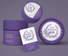 "Логотип и упаковка для ""Лавандового дома"""