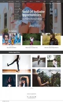 Блог по тематике Fashion