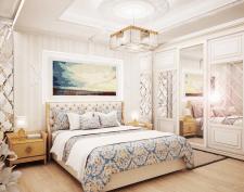 Дизайн визуализация спальни 3