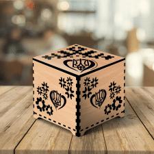 Коробка для пазлов, дерево