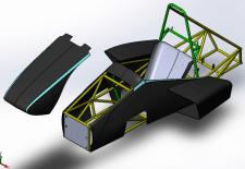 Проектирование кузова гоночного болида