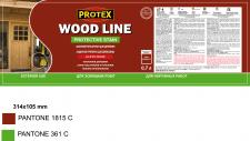 Креатив, дизайн и верстка этикетки Protex