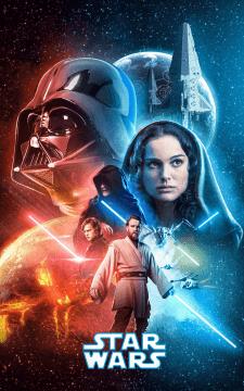 StarWars Ep.3 Poster (Remake)