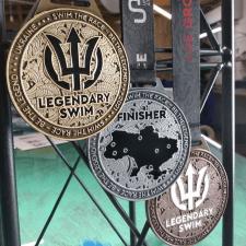 Дизайн медалей для Legendary Swim