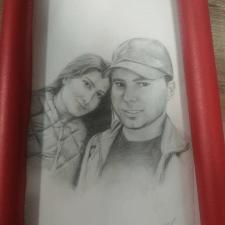 Մատիտով դիմանկար Портрет карандашом