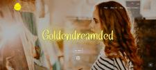 Сайт художницы Goldendreamded