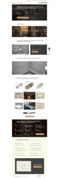 Дизайн сайта. Строительство хамамов