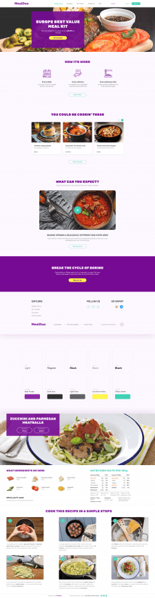 MealDuo - Subscription Fresh Food