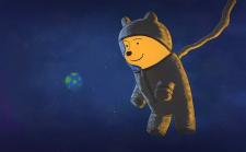 Мишка в космосе