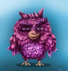 Angry Bird Fun Art