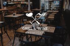 Логотип для GRILL & WINE
