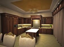 Первый этаж частного дома