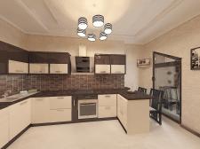 Кухня частного дома В Ривьере