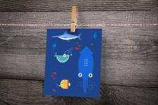 Иллюстрация Морской Мир