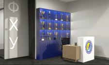 Визуализация интерьера офиса. Ресепшн