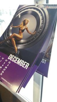 Календарь настенный. Разработка дизайна и печать