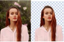 Удаление фона с фото