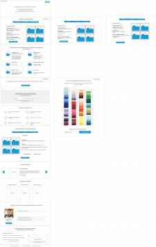 Прототип сайта для продажи натяжных потолков