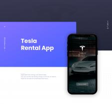 Tesla Rental App