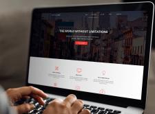 Корпоративный сайт для группы дизайнеров
