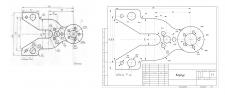 Перечерчивание детали с картинки в AutoCAD
