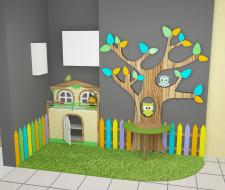 Детский уголок для салона мебели
