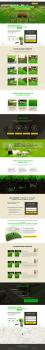Лендинг компании занимающейся рулонными газонами