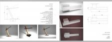 дизайн лампы и дверной ручке