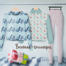 Instagram баннер Весення коллекция