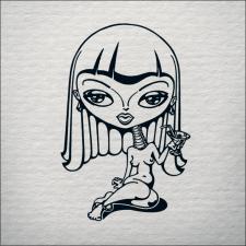 Рисунок гелевой ручкой