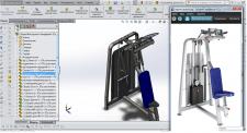 Разработка 3Д модели и чертежей тренажера