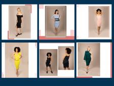Фирменный стиль Instagram для магазина платьев