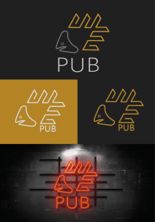 ШЕ Logo for beer pub