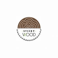 Лого для фирмы Sticky Wood