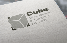"Вариант логотипа для агенства недвижимости ""Cube"""
