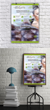 #дизайн#информационный плакат#Биочистка одежды#