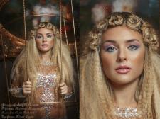 съёмка, ретушь и цветокоррекция портрета