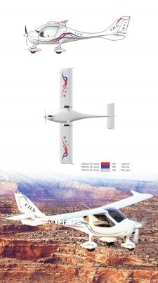 дизайн американского самолета