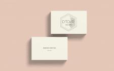 Dtour \ logo\ business card
