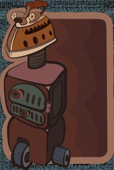 Kettle robot named Savant