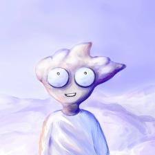 облачный человек