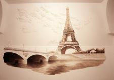 "Роспись ""Париж"""