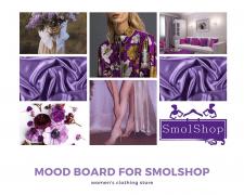 Mood Board для жіночого магазину одягу