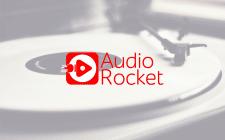 Логотип для сервиса продажи музыки Audio Rocket