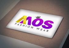 "Логотип магазина одежды ""MOS fashion wear"""