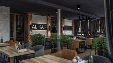 Візуалізація Ресторану