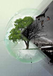Плакат на тему экология.