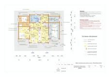 План электроточек в деревянном доме